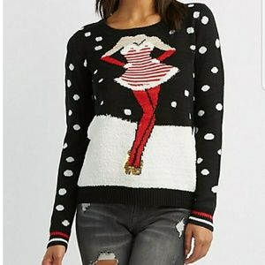 Sweaters - Mrs. Claus knit sweater